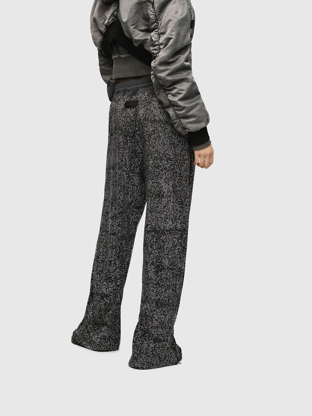 Diesel - P-STRASS, Black/Grey - Pants - Image 2