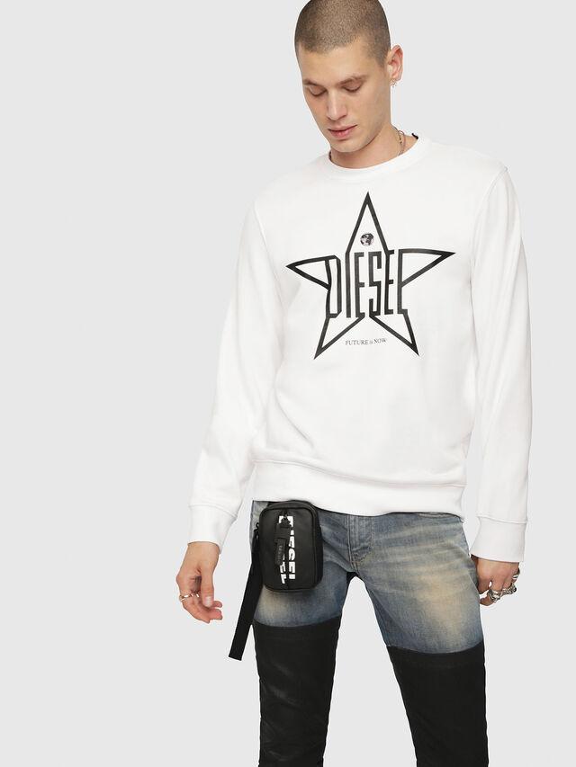 Diesel - S-GIR-YA, White - Sweaters - Image 1