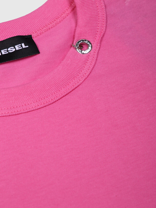 Diesel - TOCLE, Hot pink - T-shirts and Tops - Image 3