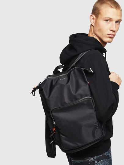 Diesel - SYLE, Black - Backpacks - Image 7