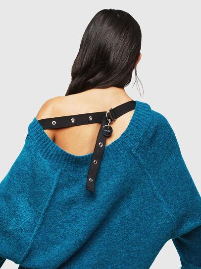 Diesel - M-NOELIA, Blue Marine - Knitwear - Image 5