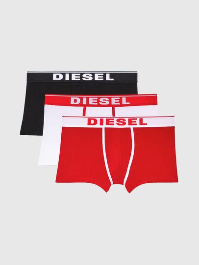 Diesel - UMBX-DAMIENTHREEPACK, White/Red - Trunks - Image 1