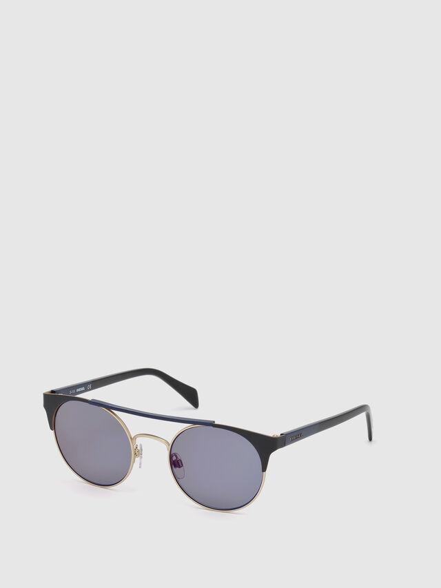Diesel DL0218, Black/Blue - Eyewear - Image 4