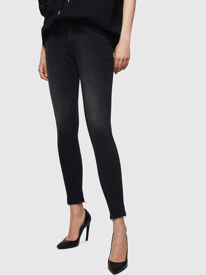 Diesel - Slandy 069BU, Black/Dark grey - Jeans - Image 1