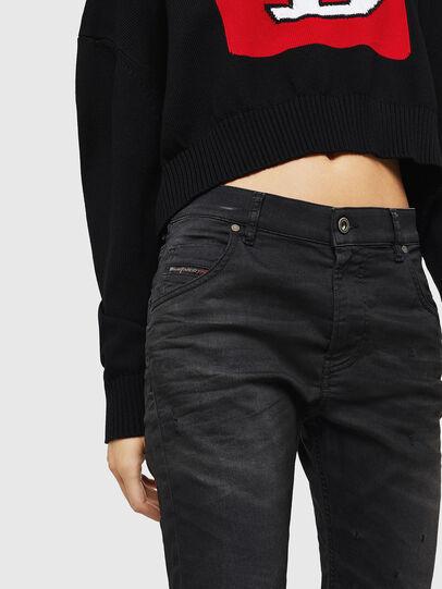 Diesel - Krailey JoggJeans 069GN, Black/Dark grey - Jeans - Image 3