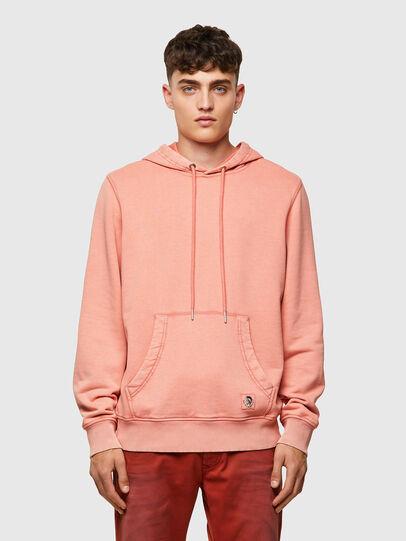 Diesel - S-GIRK-HOOD-MOHI-B1, Pink - Sweaters - Image 1