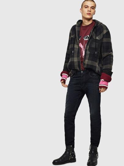 Diesel - Tepphar 0679R, Black/Dark grey - Jeans - Image 4