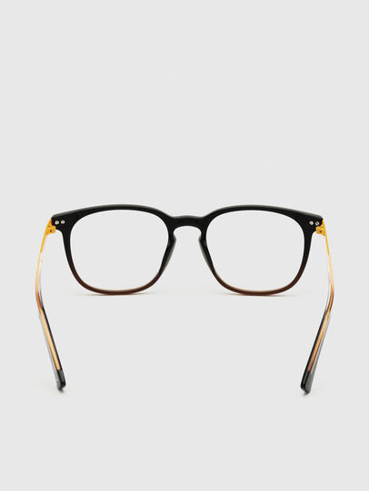 Diesel - DL5349, Black/Yellow - Eyeglasses - Image 4