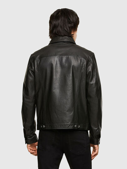 Diesel - L-PAD, Black - Leather jackets - Image 2
