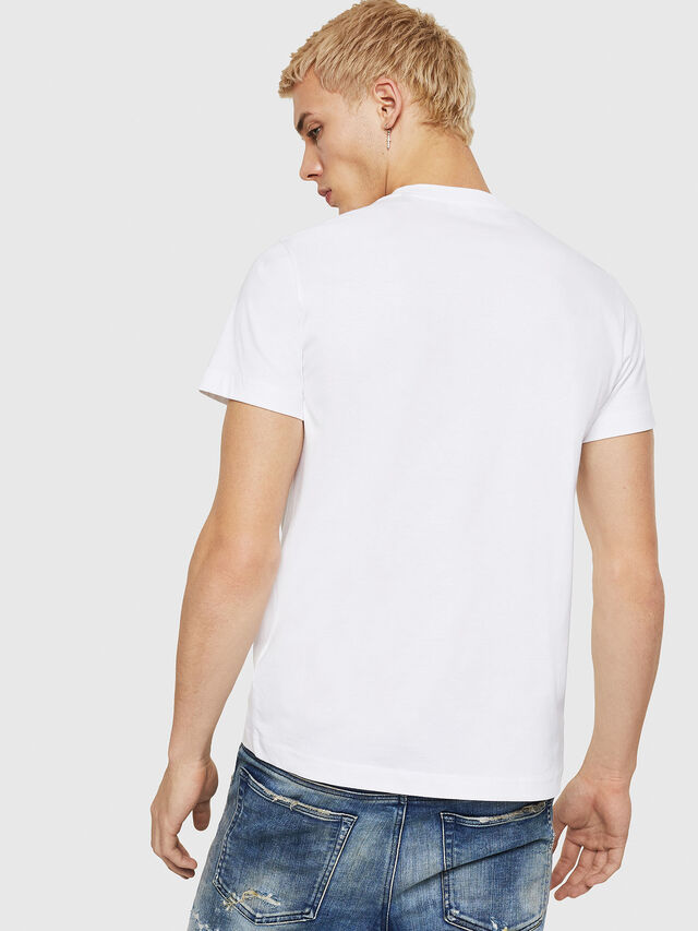 Diesel - T-DIEGO-A7, White - T-Shirts - Image 2