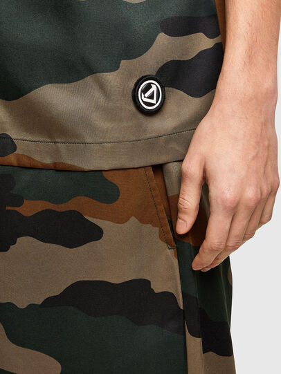 Diesel - S-WOLF-CAMU, Brown/Green - Shirts - Image 3