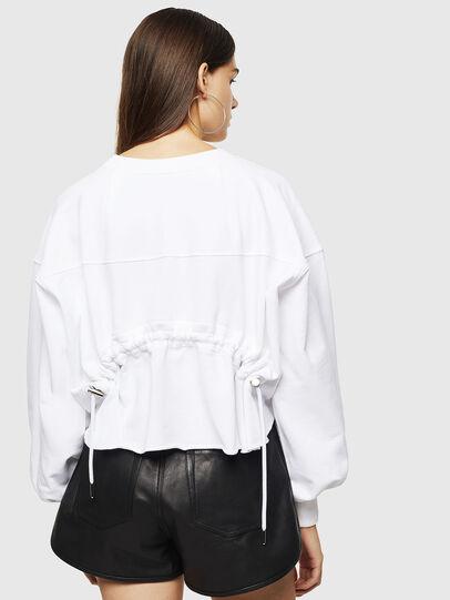 Diesel - F-MONDY, White - Sweaters - Image 2