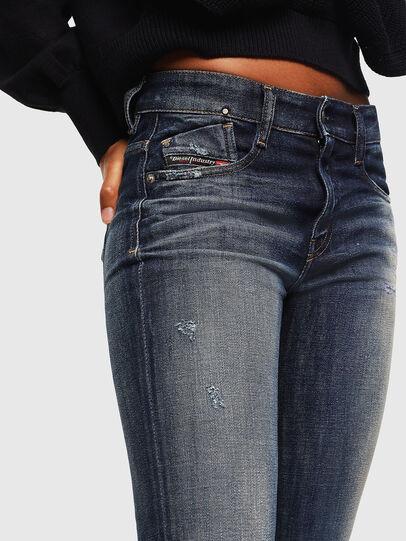 Diesel - D-Rifty 0096U, Dark Blue - Jeans - Image 3