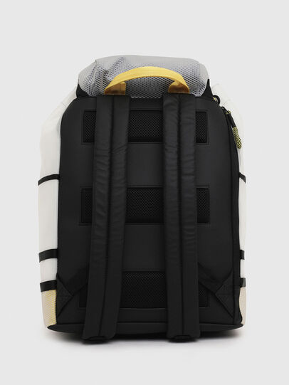 Diesel - F-SUSE BACKPCK, White/Yellow - Backpacks - Image 2