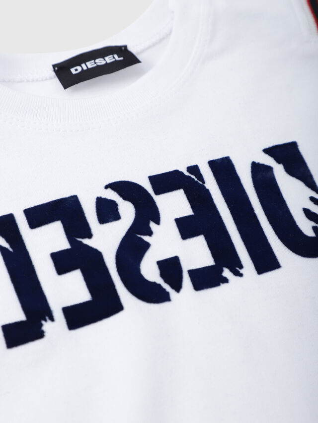 Diesel - TRYLLB, White - T-shirts and Tops - Image 3