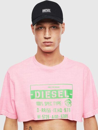 Diesel - T-CROPPY, Pink - T-Shirts - Image 1