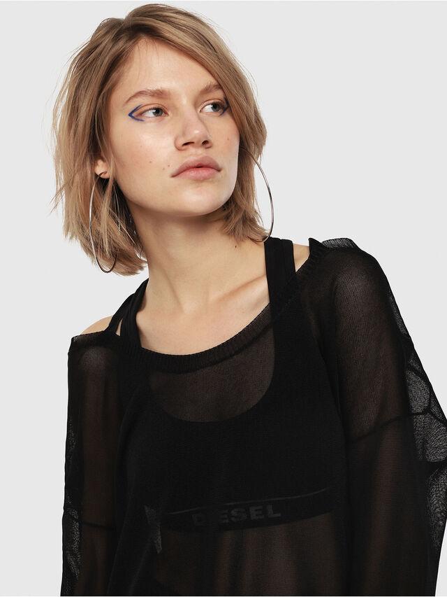 Diesel - M-ALPY-A, Black - Knitwear - Image 3