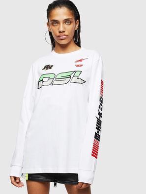 ASTARS-T-JUST-LONG-F, White - T-Shirts