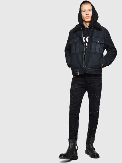 Diesel - W-VLADIMIR, Black - Winter Jackets - Image 8