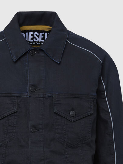 Diesel - D-BRAVY-SP JOGGJEANS, Black - Denim Jackets - Image 4