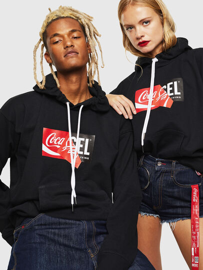 Diesel - CC-S-ALBY-COLA, Black - Sweaters - Image 6