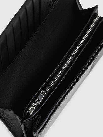 Diesel - 24 A DAY, Black - Continental Wallets - Image 4