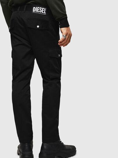 Diesel - P-JARED-CARGO, Black - Pants - Image 2