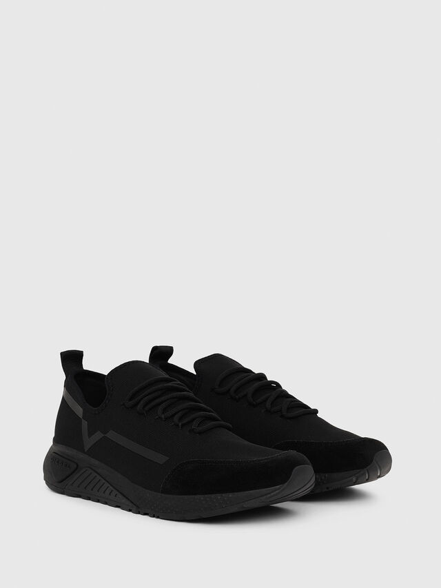 Diesel - S-KBY STRIPE, Black - Sneakers - Image 2