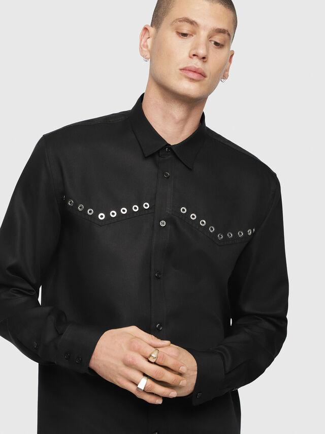 Diesel - S-HIROKI, Black - Shirts - Image 3