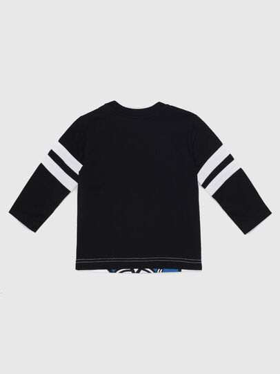 Diesel - TILLYB, Black/White - T-shirts and Tops - Image 2