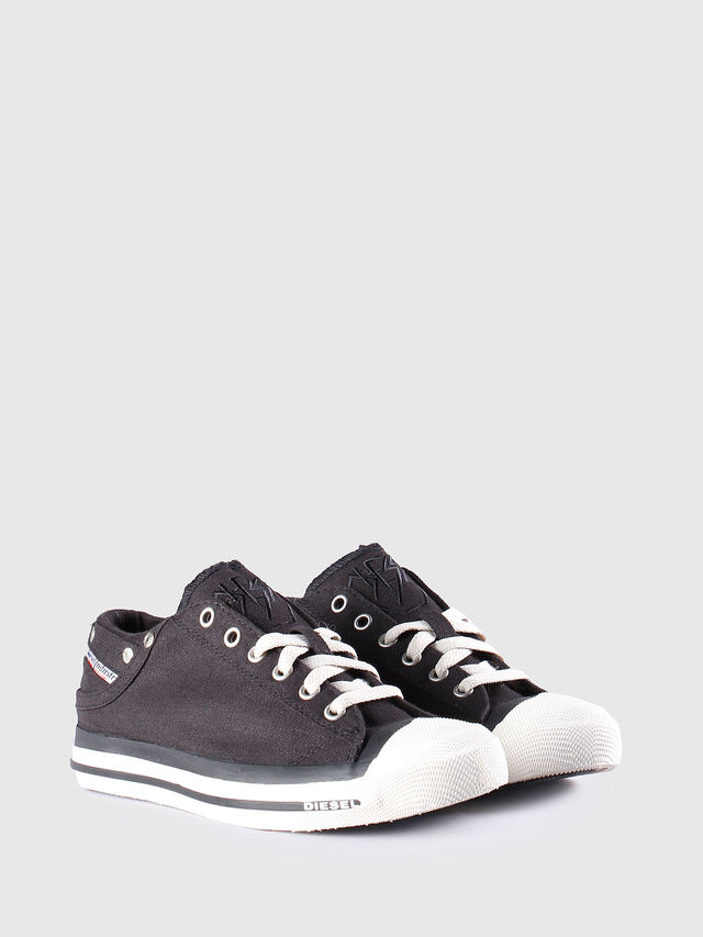 Diesel EXPOSURE LOW W, Black - Sneakers - Image 2