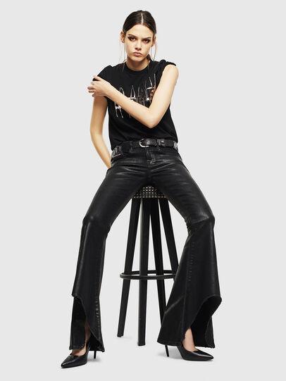 Diesel - D-Ferenz 0091G, Black/Dark grey - Jeans - Image 9