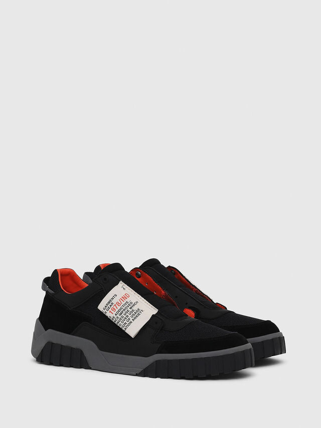 Diesel - S-LE RUA ON, Black - Sneakers - Image 2