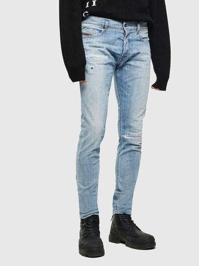 Diesel - Tepphar 0095V, Light Blue - Jeans - Image 1