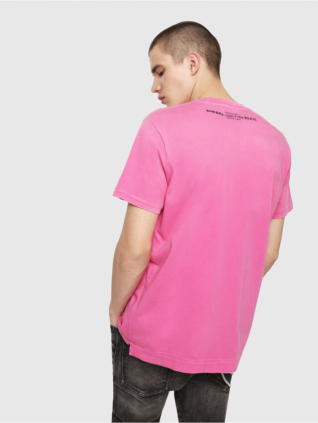 Diesel - T-SHIN, Hot pink - T-Shirts - Image 2