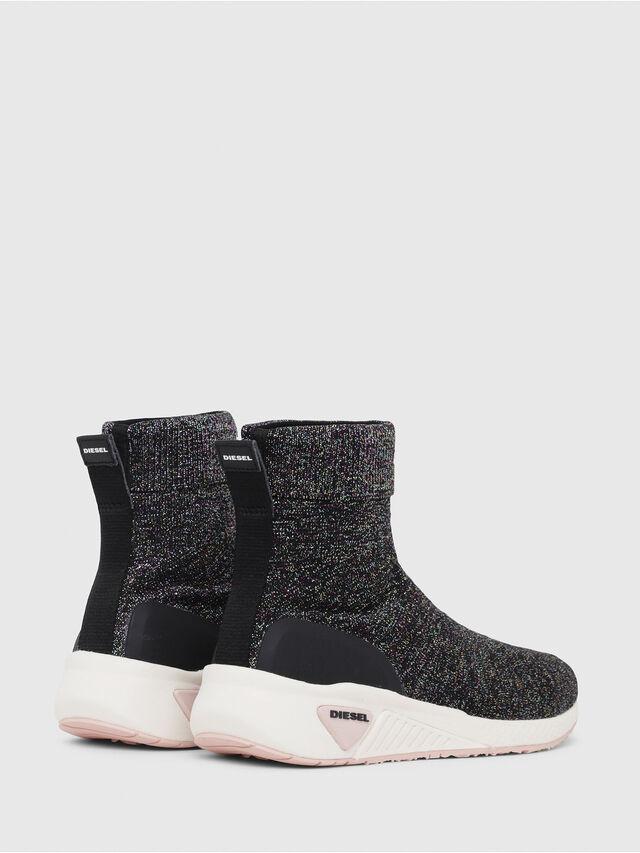 Diesel - S-KBY SOCK W, Multicolor/Black - Sneakers - Image 3