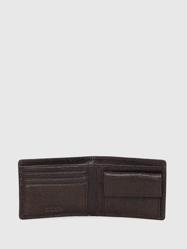 Diesel - HIRESH XS, Brown - Small Wallets - Image 3
