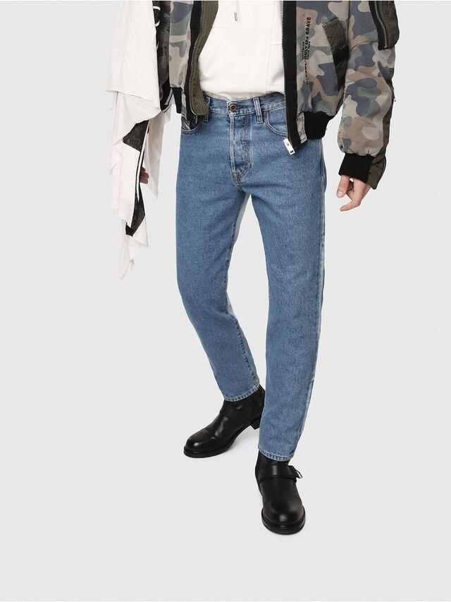Diesel - Mharky 0077V, Medium blue - Jeans - Image 1