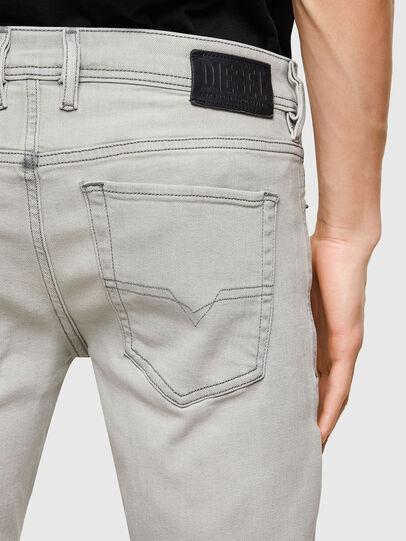 Diesel - Sleenker 009PY, Light Grey - Jeans - Image 4