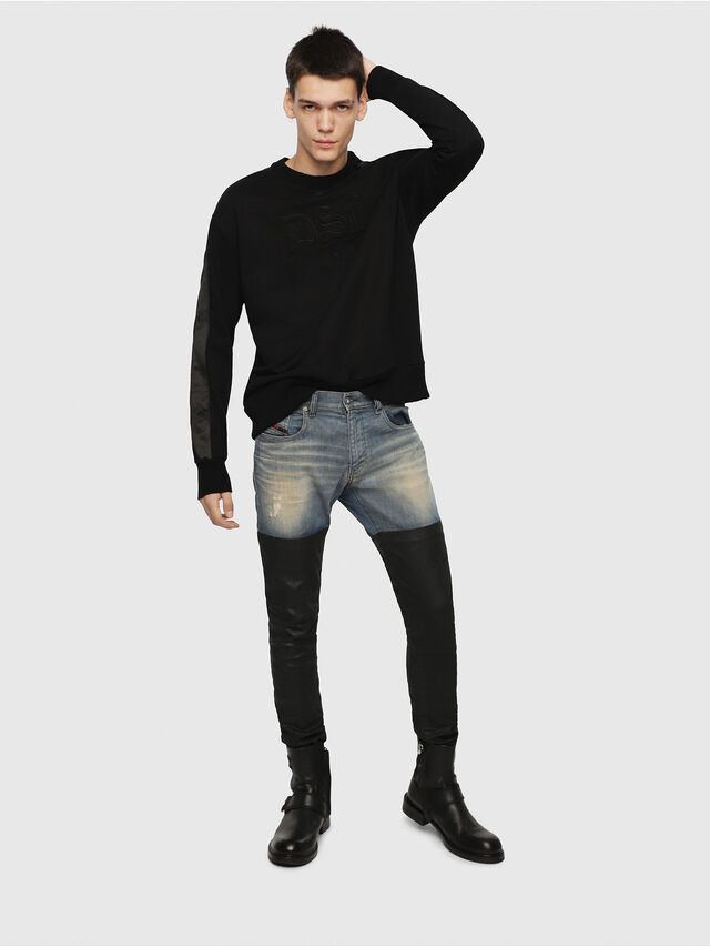 Diesel - S-BAY-RR, Black - Sweaters - Image 4