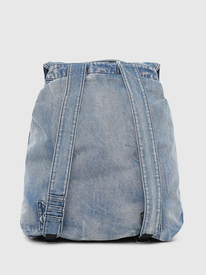 Diesel - VOLPAGO BACK, Blue Jeans - Backpacks - Image 2