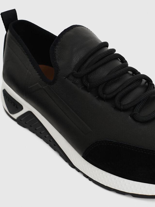Diesel S-KBY, Black Leather - Sneakers - Image 4