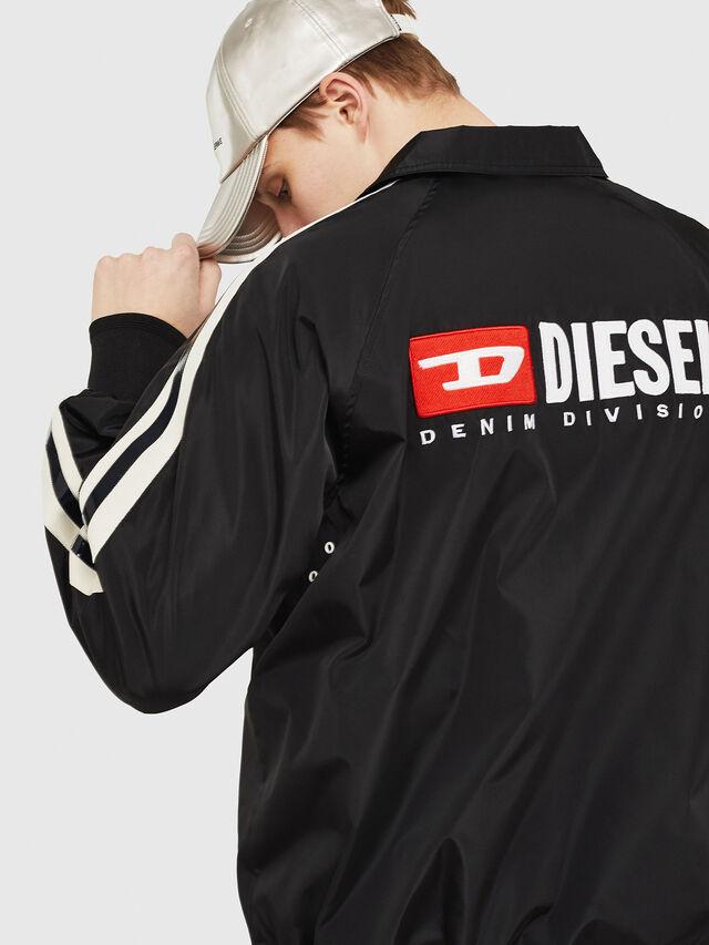 Diesel - J-AKITO, Black - Jackets - Image 4