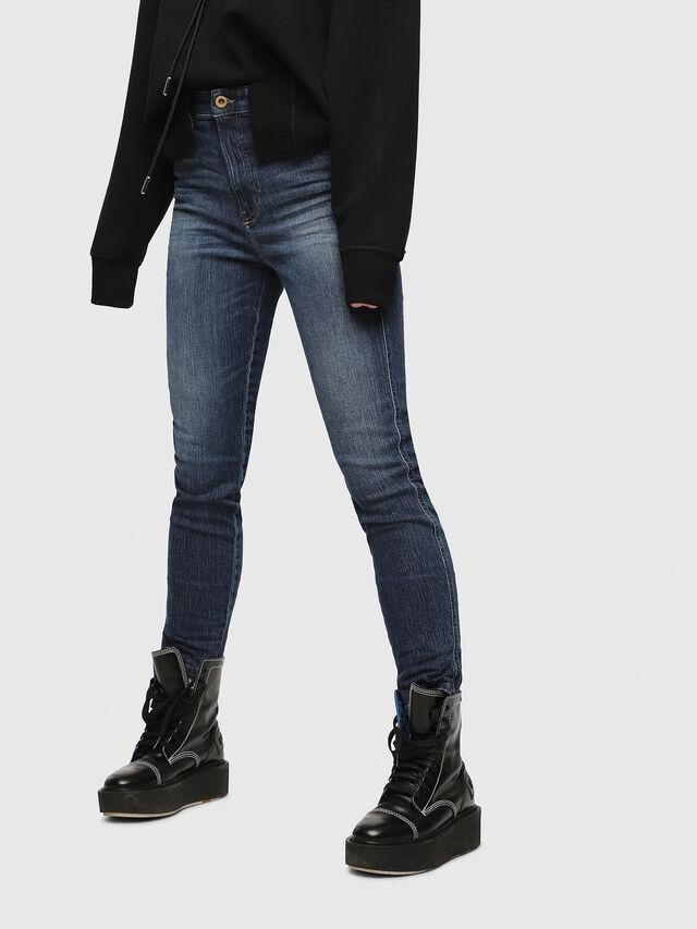 Diesel - Babhila High 089AH, Dark Blue - Jeans - Image 1