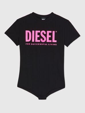 UFBY-BODYTEE, Black/Pink - Bodysuits