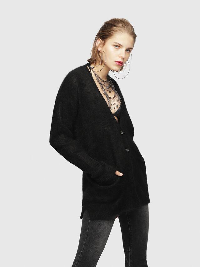 Diesel - M-DEN, Black - Knitwear - Image 1