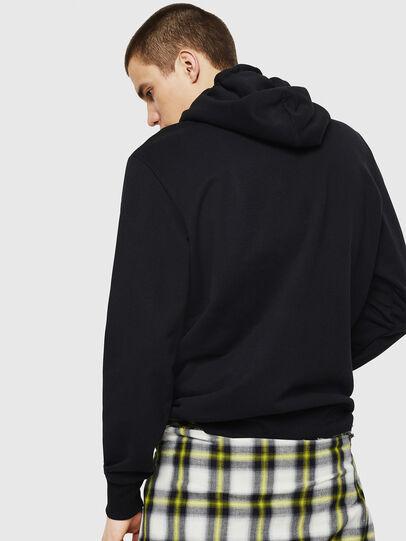 Diesel - S-GIR-HOOD-A1, Black - Sweaters - Image 2