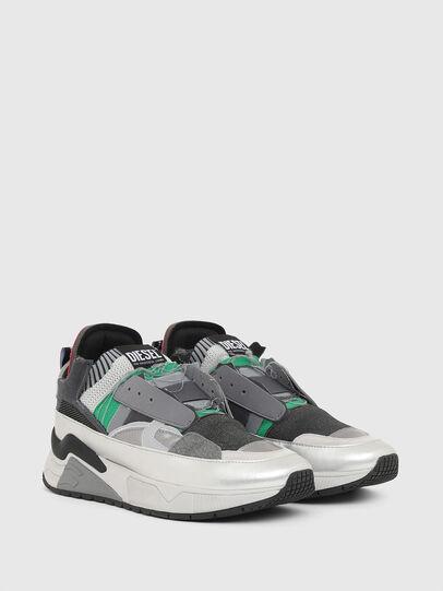 Diesel - S-BRENTHA DEC, Grey - Sneakers - Image 2