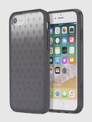 MOHICAN HEAD DOTS BLACK IPHONE 8/7/6s/6 CASE, Black