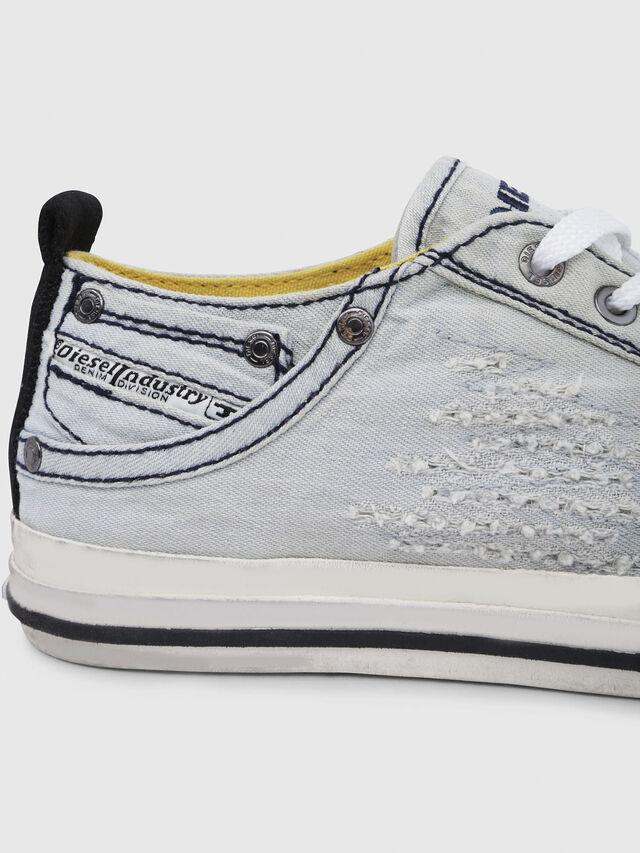 Diesel - EXPOSURE IV LOW  W, Light Blue - Sneakers - Image 4